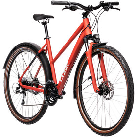 Cube Nature Allroad Trapeze, red'n'grey
